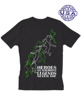 who's on first unisex t-shirt made in usa heroes and legends black