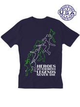 who's on first unisex t-shirt made in usa heroes and legends navy