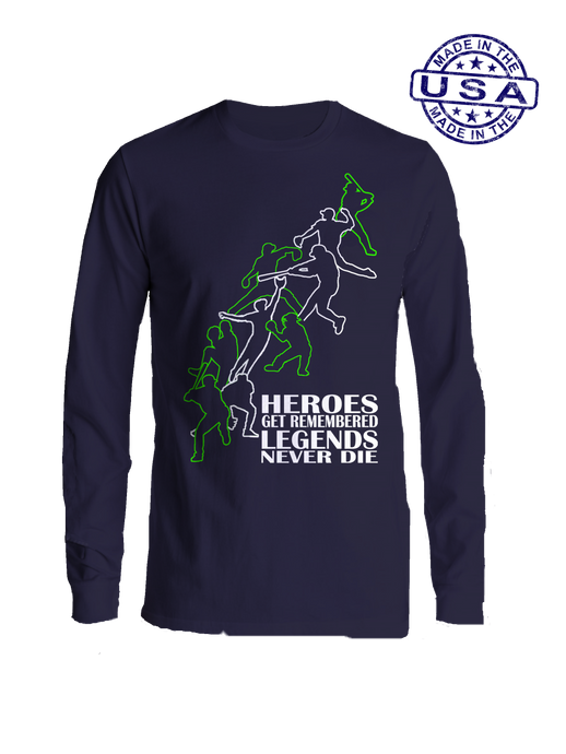 Heros & Legends, Long Sleeve