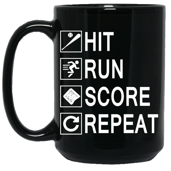 who's on first hit run score repeat coffee mug black