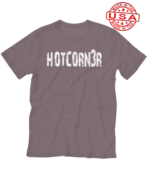 who's on first unisex t-shirt made in usa hotcorn3r hotcorner third baseman asphalt