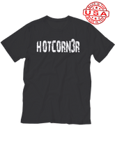 who's on first unisex t-shirt made in usa hotcorn3r hotcorner third baseman black