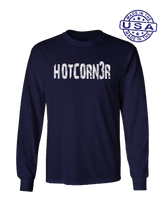 who's on first hotcorn3r long sleeve shirt navy