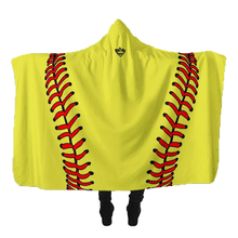 Keep It Simple, Softball Hooded Blanket
