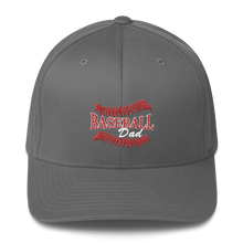 whos on first baseball dad structured cap grey