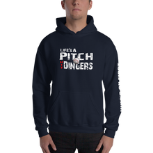 who's on first life's a pitch hit dingers hoodie navy