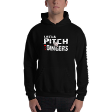 who's on first life's a pitch hit dingers hoodie black