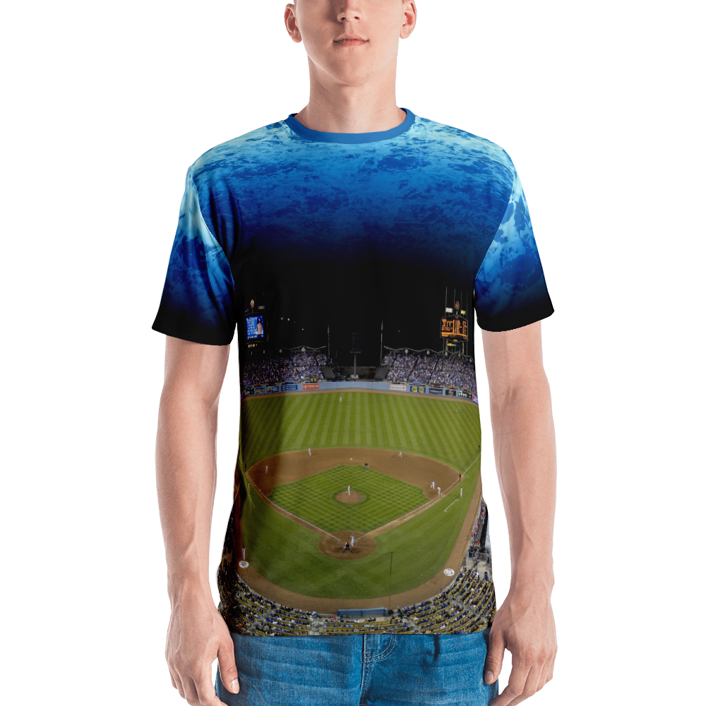 who's on first the stadium all over print shirt front