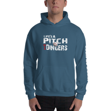 who's on first life's a pitch hit dingers hoodie indigo