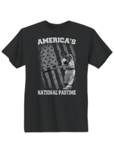 who's on first america's national pastime shirt black