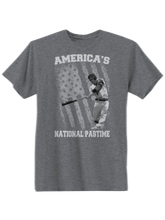who's on first america's national pastime shirt deep heather