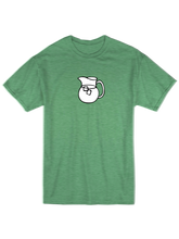 who's on first the pitcher youth t-shirt green