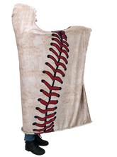 who's on first hooded baseball blanket with pockets keep it simple right view