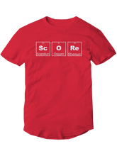 who's on first score youth t-shirt red