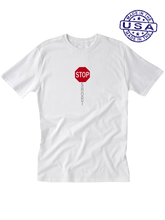 who's on first, shortstop unisex t-shirt made in usa white