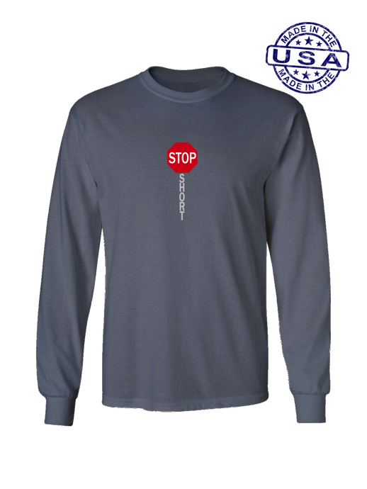 who's on first shortstop long sleeve shirt asphalt