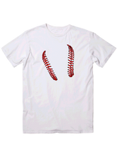 who's on first life keep it simple youth t-shirt white
