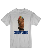 whos on first apparel snowcone tee in triblend oatmeal