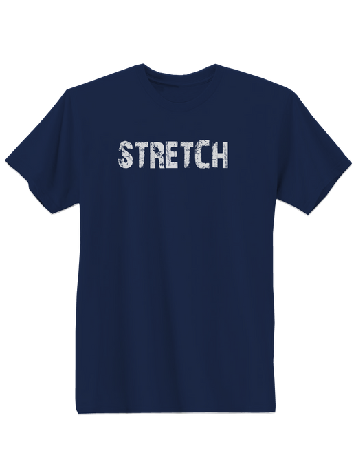 who's on first stretch youth t-shirt navy