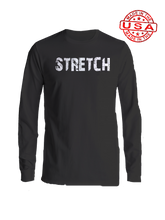 who's on first stretch long sleeve shirt black