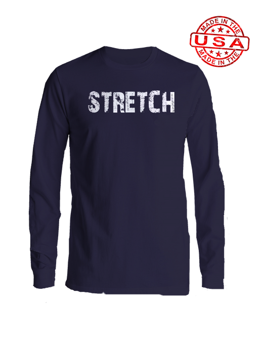 who's on first stretch long sleeve shirt navy
