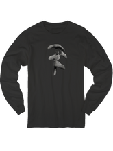 who's on first who's up long sleeve t shirt black