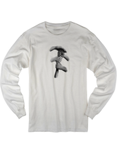 who's on first who's up long sleeve t shirt white