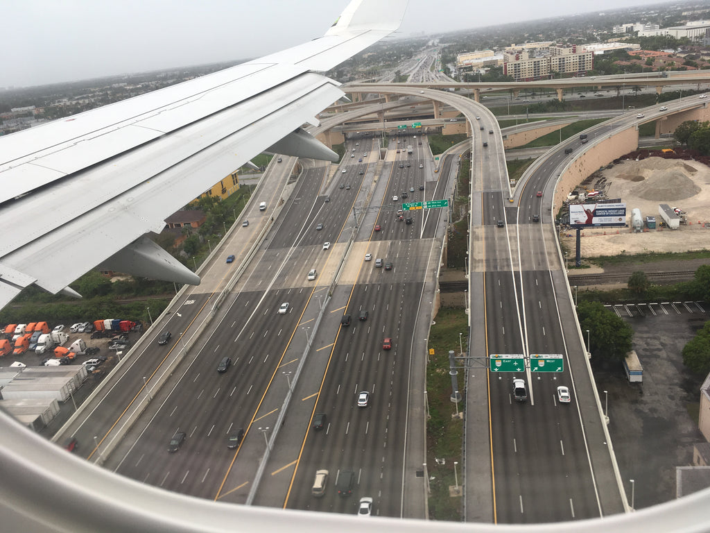 landing @Miami Int'l airport