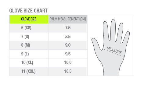 gloves-size-chart