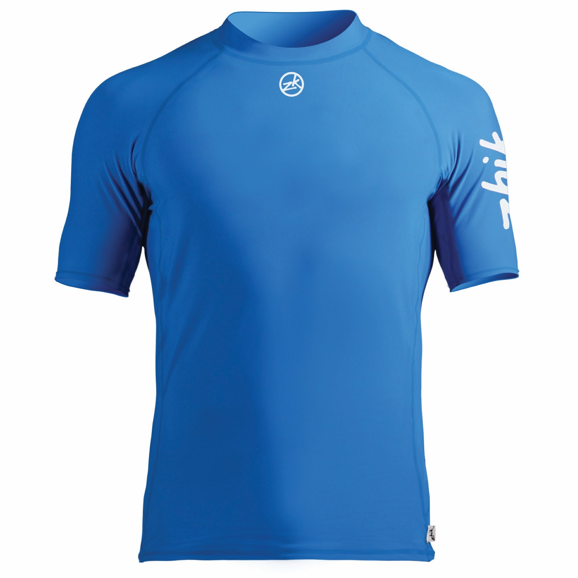 Zhik Mens Short Sleeve Rash Guard Spandex Top