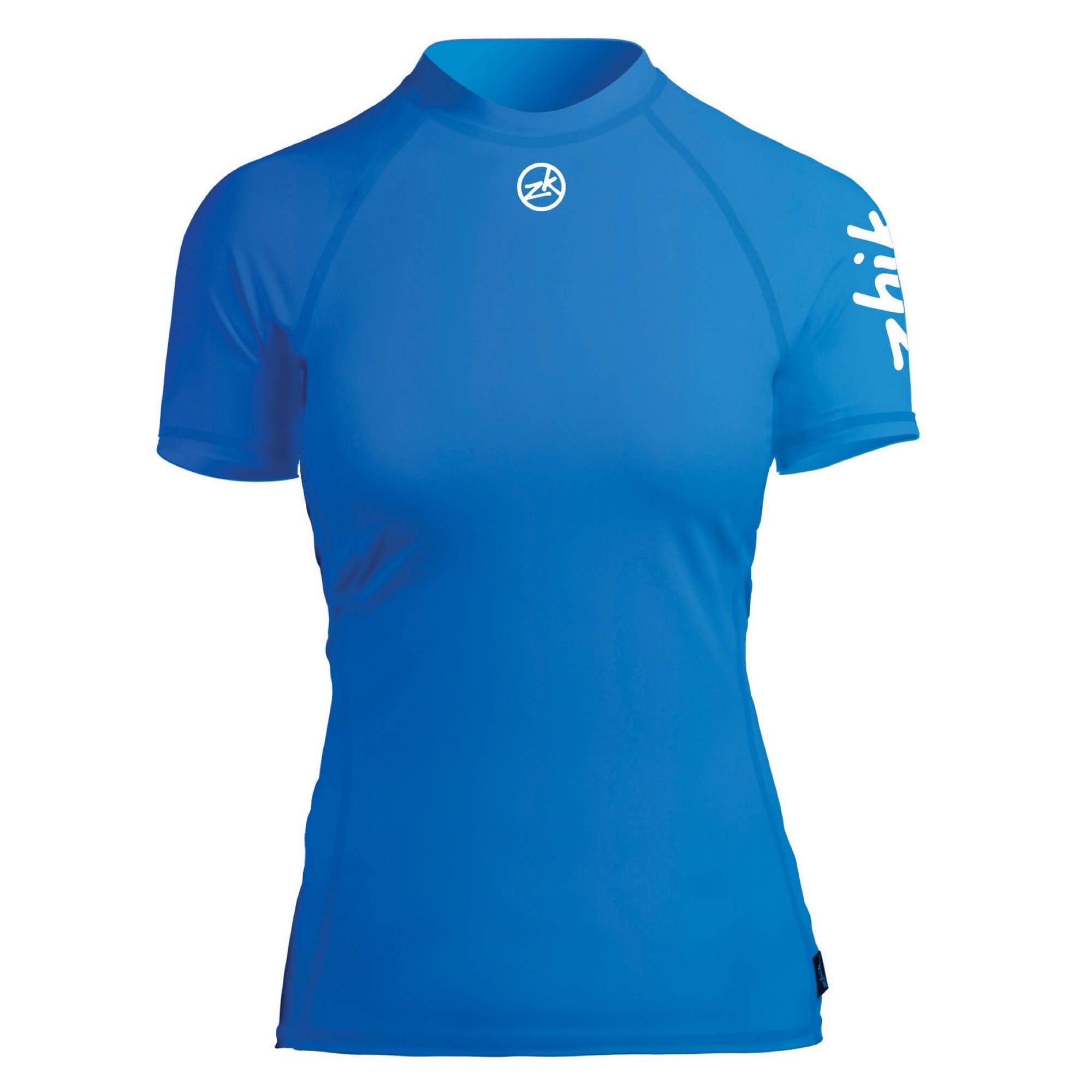 Zhik Womens Short Sleeve  Rash Guard Spandex Top