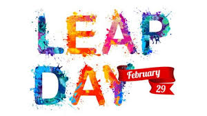 ICYDK....It's a Leap Year!!