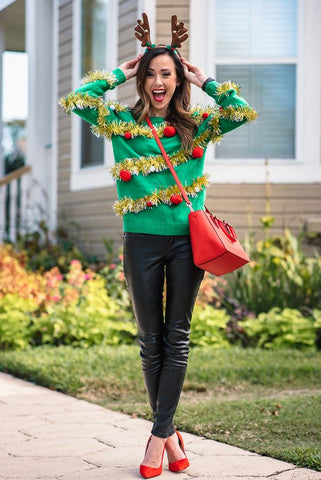 How to Throw the Best Christmas Party - Ugly Sweaters - Dixie & Dot