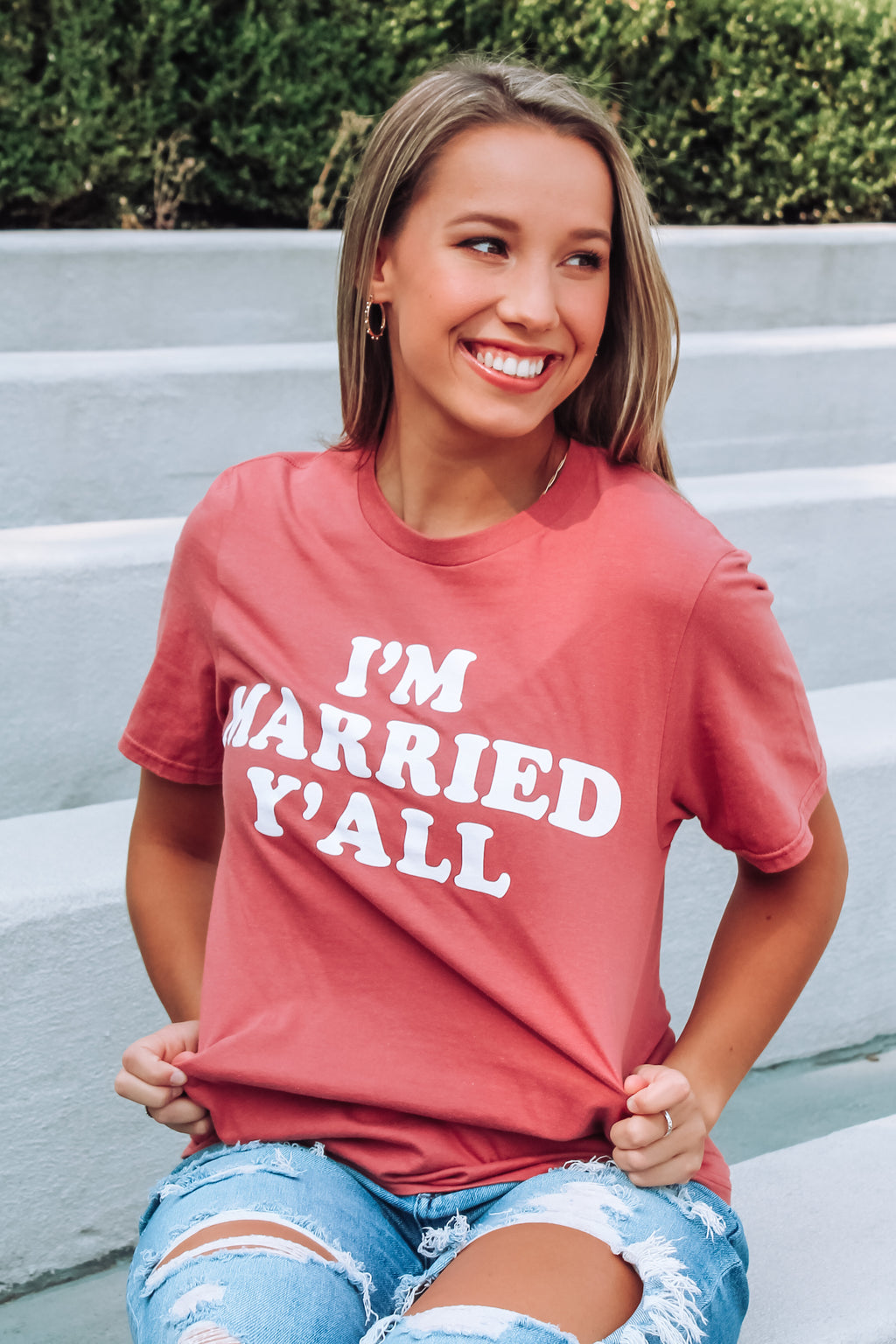 I'm Married Y'all Tee