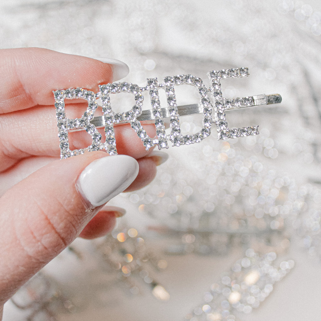 The Blingy Bride Barrette