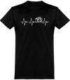 Heartbeat Photo T-Shirt Unisexe