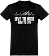 Ride To Live T-Shirt Unisexe