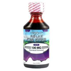 CBD Daytime Syrup (Relax)