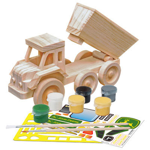 DUMP TRUCK 3D WOOD PAINT KIT LP26547