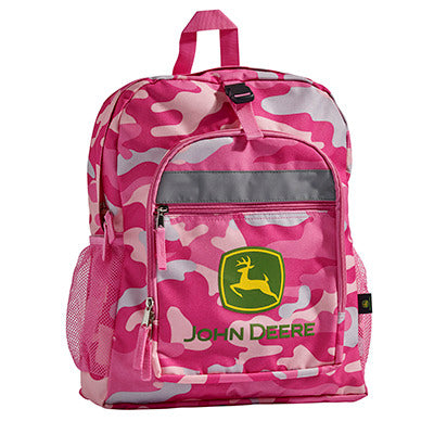 GIRLS BACKPACK PINK CAMO LP53777