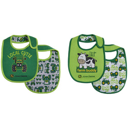 BOY INFANT BIB SET LOCAL CUTIE LP67573