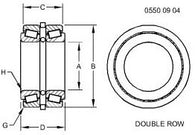 TAPERED ROLLER BEARING RE567062