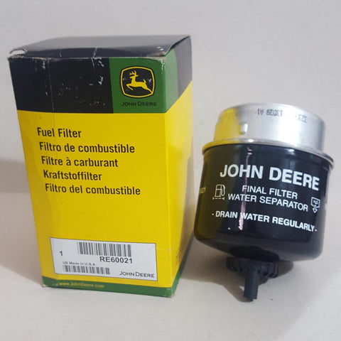 JOHN DEERE WATER SEPARATOR FILTER ELEMENT RE60021
