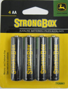 PACK OF 4 AA ALKALINE BATTERY SW65030