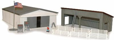 1/64 MACHINE SHED PLAY SET TBEK12930