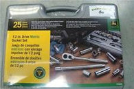 John Deere Metric 1/2-inch Drive 25-piece Socket Set - TY25840