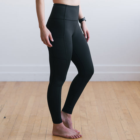 Inspire Exercise Pants - Black | MT SPORT-Exercise Pant-Maven Thread
