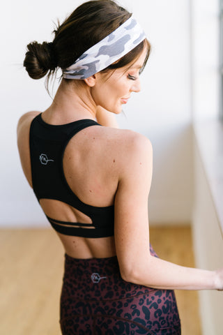 Power Sports Bra - Black | MT SPORT - Sports Bra - Maven Thread