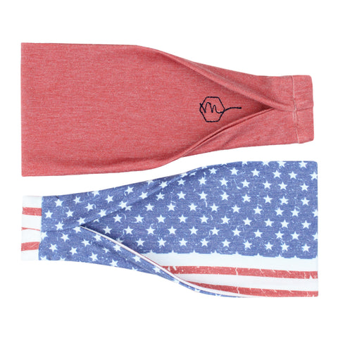 FREEDOM - 4'' Headband - Headbands - Maven Thread