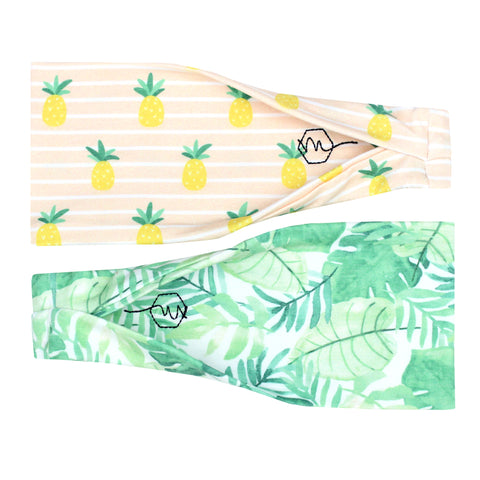 TROPICS - 4'' Headband - Headbands - Maven Thread